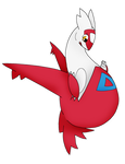 Another Preggy Latias by TheGuyNoOneRemembers