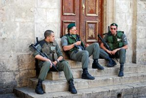 More soldiers, Jerusalem by dpt56