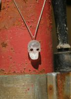Crystal Skull - Garnet Eyes by KubusRubus