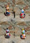 Mosaic Gourd by Waitingforyoualways
