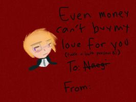 Togami valentines day card by bachurie