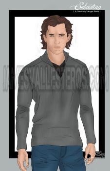 Sebastian (Angel Series by L.A. Weatherly) by jamesvallesteros