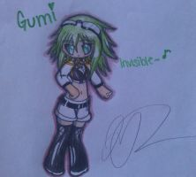 Art Trade with RyuCosplays_ Chibi Gumi EDIT by ShimmerTheVampfox