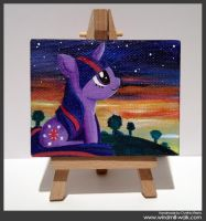 Twilight Sparkle (Mini Canvas) by Onyrica