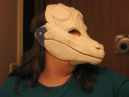 Mask 1 WIP by Creative-Dragoness