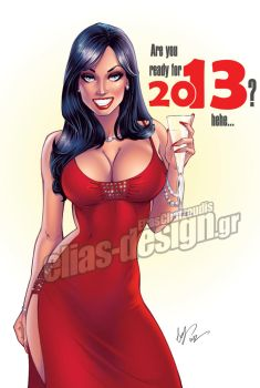 Happy 2013 by Elias-Chatzoudis