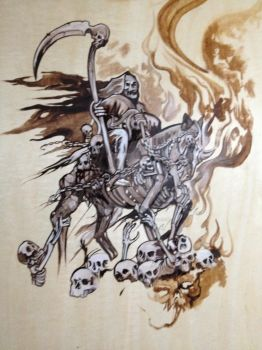 Death Rider by Tattoosbyraven