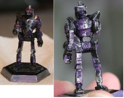 Battletech Centurion Paintjob by KittyHMommy