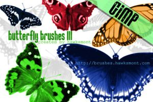 Gimp Butterfly Brushes by FrenchTeilhard