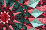 Detail I - Lily Pond by suedollinQuilts