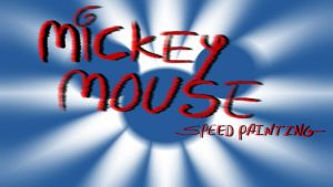 Mickey Mouse speed painting thumb by IDROIDMONKEY