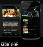 Steam for Android Redesign by Nalty