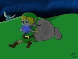 Link and navi ... by Humpty--Dumpty