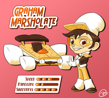 Sugar Rush Racer - Graham Marsholate by outlawink