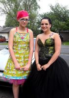 Even More Skittles Prom 2009 by Cutebutphsyco13