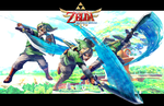 Skyward Sword Background by Archaois