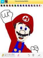 Draw Something: Mario by AskGriff