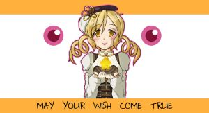 Tomoe Mami: Birthday Wish by RedRabbu
