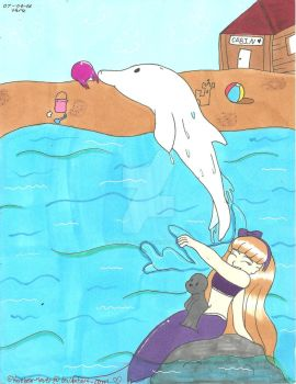 Dolphins by Karebear-4ever