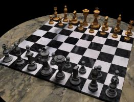 chess set by musth