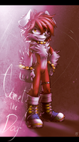 [G] Comet the dog by Silver-Fanatic
