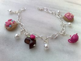 tea time bracelet by PinkCakes