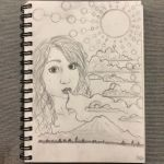 Blowing Clouds (Self Portrait) by liketheflower
