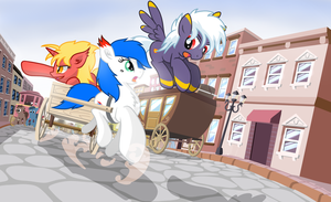 HURRY by nekokevin