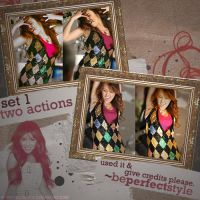 pack 1 two actions by beperfectstyle