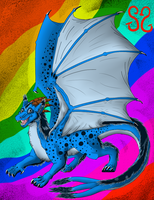 The Tru-est Dragon Out Thar by Zs99