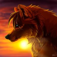 Sunset iconcomm by WolfRoad