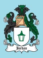 Super Clan Coat of Arms: Jordan by mattcantdraw