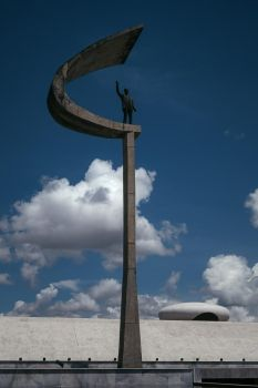 Stock Image Memorial JK Brasilia by douglast