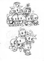DEMO 2 and 3 - Logo Character Chao by Reallyfaster
