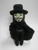 V for Vendetta amigurumi by nevR-sleep