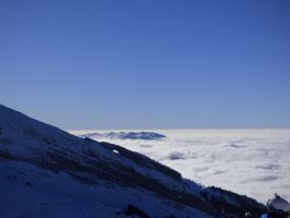 Sea of clouds to CORRENCON by A1Z2E3R