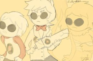 Homestuck - Dave Strider by ziki-zai
