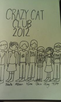 Crazy Cat Club 2012 by shyviolet34