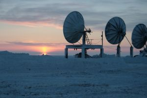 Arctic sat dishes 2 by Arctic-Stock