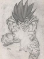 Goku by Pritchenko