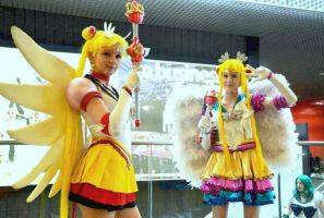 Eternal Sailor Moon: Anime and Myu style! :D by Zedela