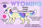 :.Wyoming.Reference.Sheet.: by meridae