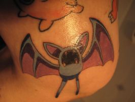 Zubat Tattoo by CandaceIsVampire