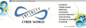 Signboard for Infinity Cyber W by MadreMedia