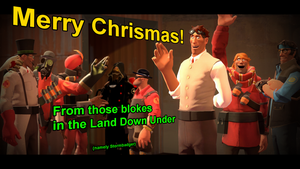 gmod - Obligatory Australian Summer Christmas pic by Stormbadger