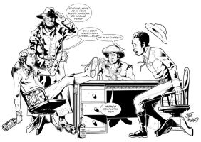 Jonah Hex Tribute to Tony DeZuniga tliid 91 by StevenHoward