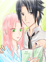 AT - Highschool Sasusaku by Dark1408