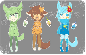 Bubble Tea Boys 1 [CLOSED] by barnaboo