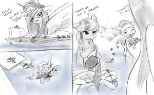 meanwhile, in that other battleshipone story by AlloyRabbit