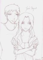 Rosalie and Emmet- immature by Hawkeye1222